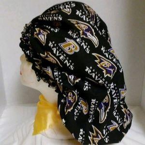 Raven hair bonnet